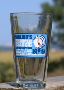 Malibu's Contest #9 Pint glass