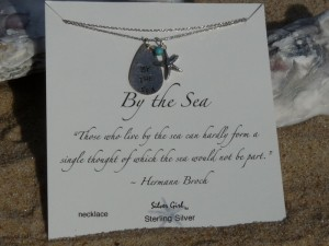By the Sea- Sterling Silver Necklace -By Studio S