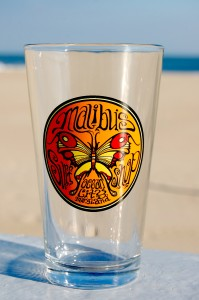 Butterfly Pint Glass