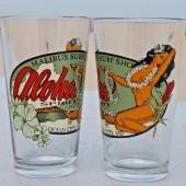 Aloha Pint Glass