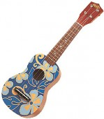 "23"" Ukuleles - Blue Aloha Floral Print"