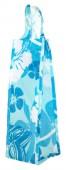 Hawaiian Style Eco-Totes - Blue Wine Bottle Bag