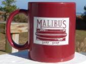MALIBU'S COFFEE MUG - Since 86 Logo