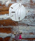 Save 2nd Base Sterling Necklace