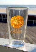 Sun Pint Glass