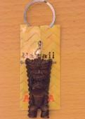God of Money - Hapa Wood Key Chain