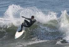 JT Hazard surfing