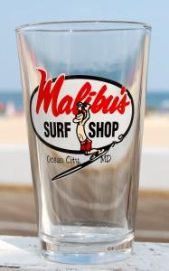 Surfer Guy Pint Glass