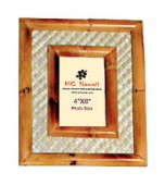 Rattan Frame with Lauhala (4 x 6)