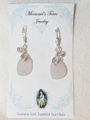 Mermaids Tears Seaglass Earings - 2008 foam